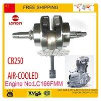 Wholesale LONCIN cc air cooled crankshaft CBD250 Dirt Bike ATV QUAD engine crank shaft engine ACCESSORIES parts order lt no track