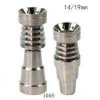 Wholesale New Titanium Nail titanium smoking mm mmCeramic Nail titanium nail for smoking pipe from szdxj2013