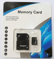 Wholesale 100 Real GB Micro SD Card full GB Memory Transflash TF SDHC Card Genuine GB w Adapter retail package