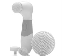 advanced body system - Electric Facial Brush Cleansing Massager Scrubber Face and Body Brushes Tool Washer Skin Advance Cleaning System by DHL