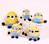 Wholesale Plush Toys Stuffed Plush Toys Despicable Me Minion Fashion New Despicable ME Movie Minion Jorge Stewart Dave Plush Baby Kids Toy Doll Set