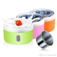 acidophilus milk - New L W Electric Automatic Yogurt Maker Stainless Steel Liner Container acidophilus Milk Tools Household Machine V A3