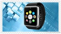 Wholesale GT08 Bluetooth Smart Watch Fashion gift GSM G Smartwatch For Apple Sumsung Cell Phone Watches With SIM TF Card Aiwatch A8 Wholes DHL Free