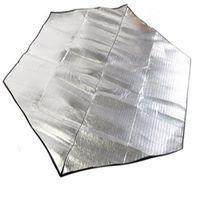 Wholesale 200 cm Moisture proof mat aluminum foil hexagonal tent Insulation mat sleeping mat outdoor camping accessories sport supply