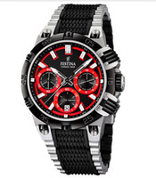 Wholesale NEW Festina Chrono Bike Chronograph Black Red Tour De France Watch F16775