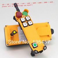Wholesale 2 Motion Speed Hoist Crane Truck Radio Remote Control System with E Stop order lt no track