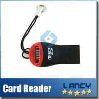 Wholesale USB TF Card Reader USB Micro SD T Flash TF M2 Memory Card Reader High Speed Adapter for gb gb gb Micro SD Card DHL
