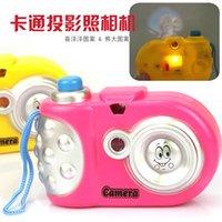 Wholesale camera kids toy camera projection camera flash light cartoon projection camera
