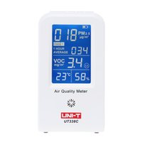 Wholesale High Precision Air Quality Detector Indoor VOC PM2 Data Logger Detector Air Monitor Thermometer Hygrometer Gas Analyzers