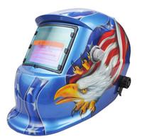 Wholesale Welding Helmet Mask Solar Auto Darkening Welding Helmet Arc Tig Mig Mask Weld Welder Lens Grinding Mask welding mask