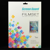 Wholesale 1pcs HD Clear Screen Protector For iPad Pro inch High Quality Front Screen Guard Flim with Retail Package