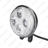 Wholesale 40set Car inch LED W Round LED Flood Spotlight Light Fog Light Working Lamp quality guaranteed