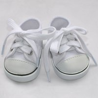 Wholesale factory price Environmental protection quot INCH DOLL SHOES for AMERICAN GIRL black sneakers O8462