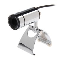 Wholesale 431624 chenbaiy Clip Style MP USB Digital Computer Laptop Metal Web Camera Silver