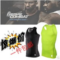 Wholesale Bryant II tights male sports pro basketball tights fitness sleeveless tank top wicking T shirt EMS DHL
