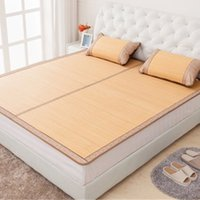Wholesale Chinese Bamboo Bed Mattress Retro Bamboo Bed Mat Foldable Bamboo Mattress Pad for Adults Bed for Sale LX1525
