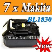 Wholesale pieces New Makita V Ah Lithium battery for Makita BL1830 Test Good SHIP VIA EMS order lt no track