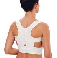 bands for braces - Fashion Hot Magnetic Posture Support Corrector Back Belt Band Pain Feel Young Belt Brace Shoulder for Sport Safety