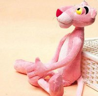pink panther - Child Gift Cute Naughty Pink Panther Plush Stuffed Doll Toy Home Decor CM JIA760