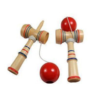 Wholesale 10 New Item Hot Sale Funny cm Kendama Toy Japanese Traditional Wood Kendama Ball Game Toy Education Gifts