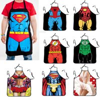 bbq parties - l2016 Funny Novelty Sexy Naked Woman Men Kitchen Cooking polyester D print waist Apron BBQ Party Gift