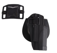 Wholesale TACTICAL OUTDOOR CS GAME BELT HOLSTER SIMULATION BELT HOLSTER Pistol Holster With Belt Loop Black