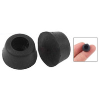 Wholesale FS Hot Rubber Caps Chair Table Leg Protectors Inch Black order lt no track