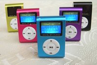 Wholesale Hot Sale Sport Mini Clip Mp3 Player Portable Digital Music Player FM Radio With Screen
