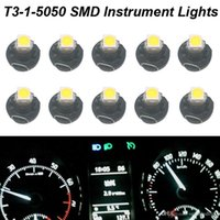 auto gauge cluster - auto led indicator xenon White T3 Neo Wedge SMD LED Light Instrument Cluster Panel Lamps Gauge Bulbs