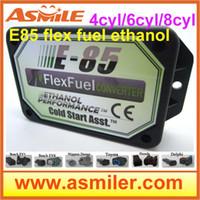 Wholesale E85 Kit Ethanol E85car conversion kit ECO Bioethanol Box cyl DHL EMS free price