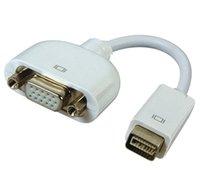 Laptop mini ide - HK POST FREE mini dvi to vga adapter cable TV projection cable