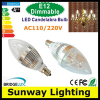high lumen led - LED Candelabra E12 E14 E27 Bulb w w Dimmable LED Candle Bulb High Lumen LED Lights Lamp Warm NaturE Cool White