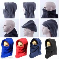 Wholesale New Multi use Thermal Fleece Balaclava Neck Winter Ski Full Face Mask Cap Cover Brand New Good Quality