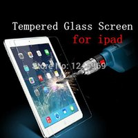 Wholesale 0 mm H Tempered Glass Screen Protector Anti Shatter Explosion Tablet PC Guard for ipad air mini