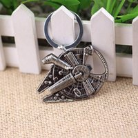 Wholesale Fashion Hot Quantum Mechanix Star Wars Millennium Falcon Replica keychain bottle opener
