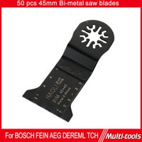aeg tools - 50pc mm Bi metal Oscillating MultiTool saw blade fit for Makita AEG Fein and most brands of multifunction tool