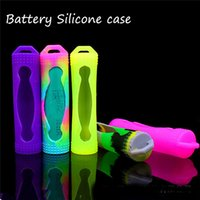 bag in box - 18650 Battery Silicone Case Protective Silicon Cases Bag Cover box colorful for battery sony samsung vtc4 vtc5 LG he4 Panason in Stock