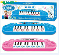 best instruments for kids - best price Musical instruments toy Frozen girl Cartoon electronic organ toy keyboard electronic baby piano with music for kids