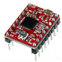 Wholesale Fashion A4988 Stepper Motor Driver Module Reprap Stepper Driver Board High Quality Motor Accessories