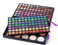 Wholesale Makeup palette colors Professional eyeshadow multi colored removable Eyeshadow combo palette