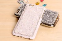 rhinestone cell phone cases - Hot selling Apple iPhone inch iPhone Plus inch rhinestone Cell Phone Case For iPhone Cover Look Shiny freeshipping
