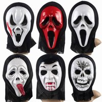 Wholesale New Halloween Mask Cosplay Horror ghost mask Final Destination Ghost single Face Masks costume ball party supplies Free DHL EMS