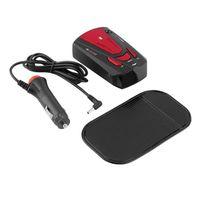 Wholesale 1pc Car Radar Detector Band Voice Alert Laser V7 LED Display Anti Radar Detectors Red Color Newest