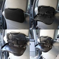 Wholesale Foldable Car Back Seat Table Tray Stand Food Cup Drink Bottle Rack Holder low price