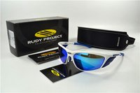 Wholesale 2016 Newest RUDY Project ZYON Cycling Sunglasses TR90 Frame Polarized Sport SunGlasses Women Men Bike Bicycle Glasses Goggles Free ship