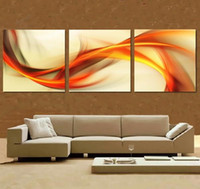 Cheap 3 Panel free shipping Hot Sell Modern Wall Painting abstract Home Wall Art Picture Paint on Canvas Prints
