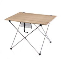 aluminum table frame - Lightweight Easy Carry Aluminum Frame Foldable Picnic Outdoor Camping Table