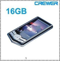 Wholesale DHL free MP4 Player MP3 Players New GB GB Slim LCD Screen PMP Video Media Fm Radio Player MP4 Player