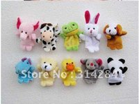 Boys Birth-12 months Push Free shipping puppet story-telling props Children's Puzzle Baby Finger toy animal dolls Hand finger Toy 052323