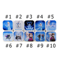 Wholesale 3D cartoon Frozen Digital desk table alarm clock Elsa Anna olaf snowman daily alarms change watch Glowing Clocks styles